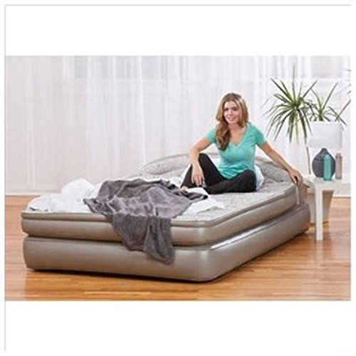 Aerobed Comfort Anywhere 18 Air Mattress With Headboard Design