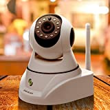 GuardCam® 720P HD 360 Degree Rotatable Digital IP/Network/Wireless/WIFI Security Monitor Camera with Night Vision for Home,Office,Kids,Baby,Pets
