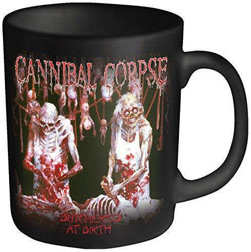 Cannibal Corpse Butchered testa in plastica, tazza, colore: nero