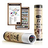 C 'est La Vie_Balakie Wine map of Regentina,Italy,Chile,New Zealand, as a Living Room Home Decor Prints