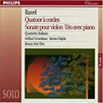 Ravel: String Quartet; Violin Sonata;...