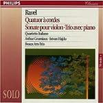 Ravel: String Quartet; Violin Sonata;...