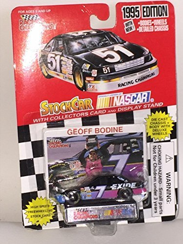 racing-champions-nascar-1995-edition-die-cast-car-7-164-with-card-geoff-bodine-by-racing-champions