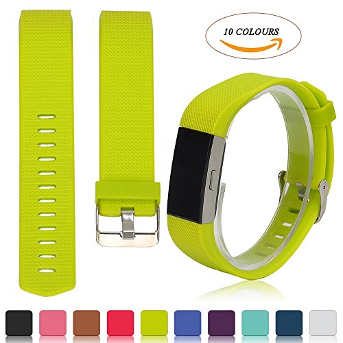 fitbit-charge-2-accessory-band-ifeeker-classic-multi-colours-replacement-soft-silicone-adjustable-re