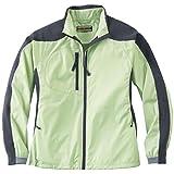 Lime Sherbert/Fossil Grey, Medium : Ash City Ladies Hybird Lightweight Jacket