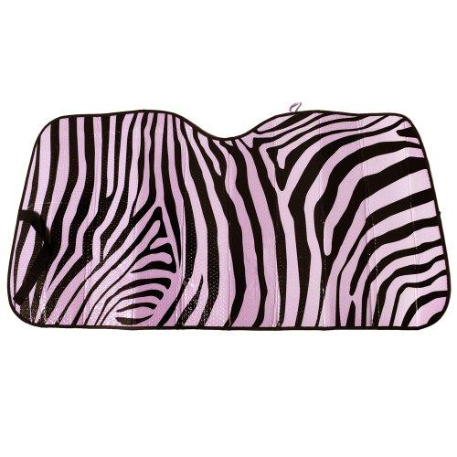 OxGord Zebra Auto Shade - 1