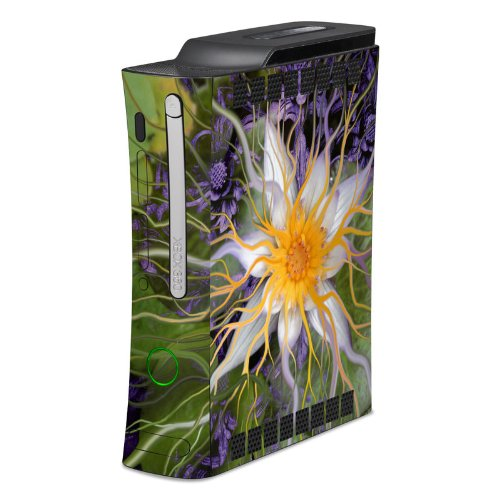 Bali Dream Flower Full Body Design Protective Skin Decal Sticker For Xbox 360 Console front-603004