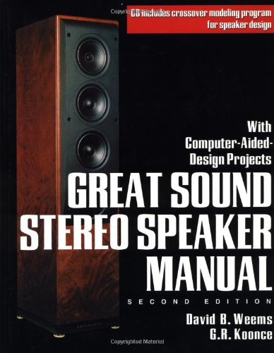 Great Sound Stereo Speaker Manual (TAB Electronics), by David B. Weems, G. R. Koonce