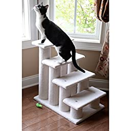 Armarkat Pet Steps, Post Diameter: 4.5 inches