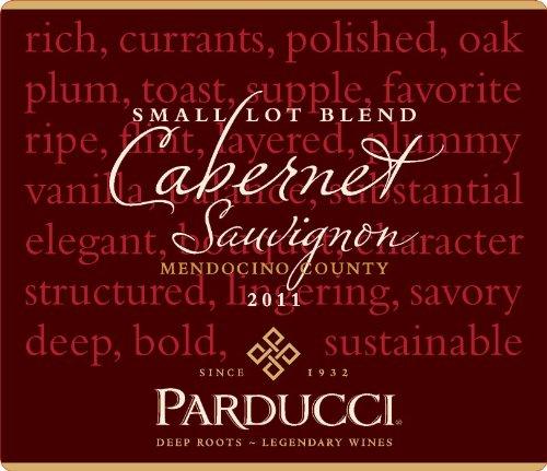 2011 Parducci Small Lot Blend Cabernet Sauvignon Mendocino County 750 Ml