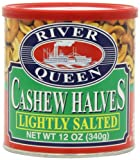 River Queen Cashew Halves, Lightly Salted, 12 Ounce