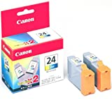 Canon インクタンク BCI-24Color 3色カラ- (2個パック)