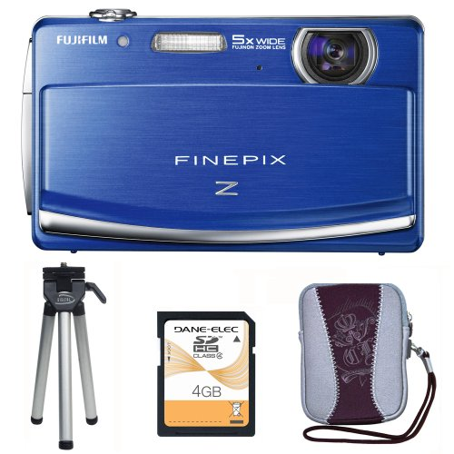 FinePix Z90 with Mini Tripod, Carry Case and 4GB SD Card
