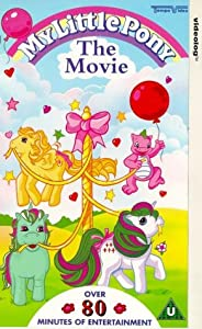 My Little Pony the Movie [VHS]