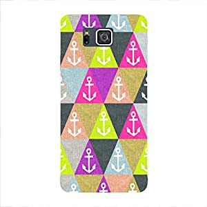 Back cover for Samsung Galaxy Alpha Abstract Anchor