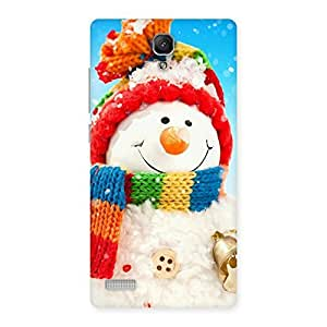 Ajay Enterprises ice teddy Back Case Cover for Redmi Note