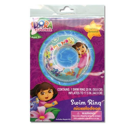 "Dora The Explorer 20"" Inflatable Swim Ring (Vamonos!) front-1036295"