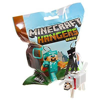 Official Minecraft Exclusive WOLF Toy Action Figure Hanger by MOJANG