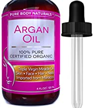 Pure Body Naturals Organic Argan Oil…