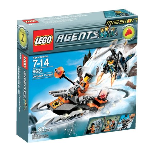 LEGO Agents Jet Pack Pursuit Amazon.com