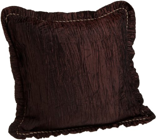 Croscill Home Amethyst European Sham 26-Inch By 26-Inch, Plum back-1030673