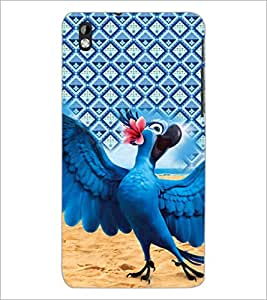PrintDhaba Cartoon D-5998 Back Case Cover for HTC DESIRE 816 (Multi-Coloured)
