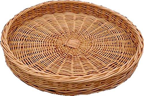 Round Présentation Wicker Tray