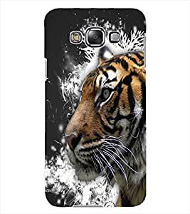 ColourCraft Tiger Look Design Back Case Cover for SAMSUNG GALAXY GRAND MAX G720