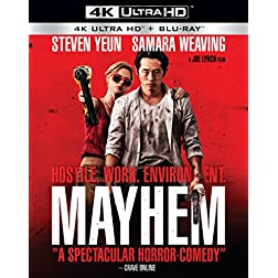 Mayhem [4K Ultra HD + Blu-ray]