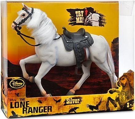 Disney The Lone Ranger - Silver the horse Action Figure with sound - 11 Tall by Disney