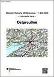 img - for  bersichtskarte von Mitteleuropa 1 : 300 000 Ostpreu en book / textbook / text book