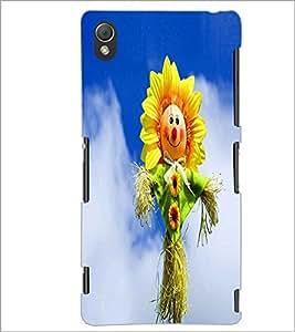 PRINTSWAG SUNFLOWER Designer Back Cover Case for SONY XPERIA Z3