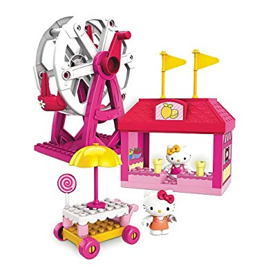 Hello Kitty Mega Bloks Set #10825 Spring Fair
