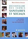echange, troc Marie-Claude Denoyer - Dictionnaire des thèmes sanitaires et sociaux