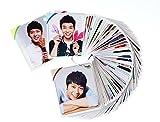 JYJ ユチョン 韓国語 単語 カード 63枚入 ステキな写真と韓国語学習