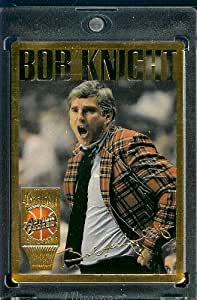 1994 Action Packed HOF # 12 Bob Knight New York Knicks Basketball Card- Mint Condition - In Protective ScrewDown Case!