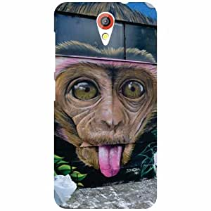 HTC Desire 620 Back Cover - Tongue Down Designer Cases