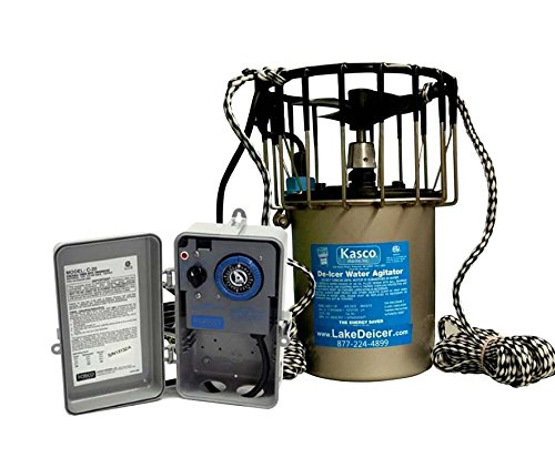 Kasco-Deicer-3400d50-w-C-20-Timer-Thermostat-Controller-34-HP-50-FT-CORD