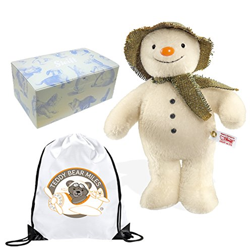 highest-quality-authentic-collectors-limited-edition-steiff-mohair-snowman-teddy-bear-25-cm-and-reus