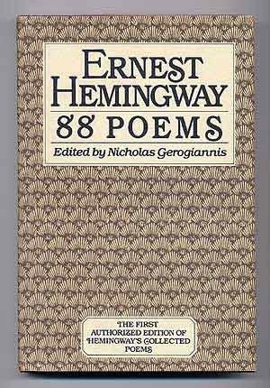 88 Poems, by Ernest Hemingway