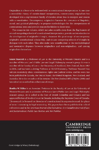 The Challenge of Originalism Paperback