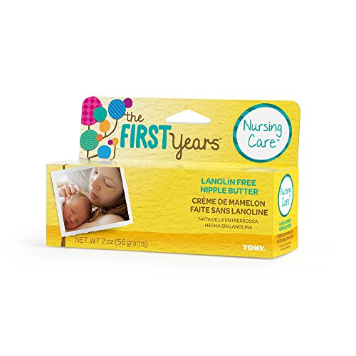 The First Years Lanolin Free Nipple Butter, 2 Ounce - 1