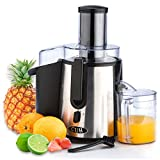 CUH 990W Professional Stainless Steel Whole Fruit Vegetable Juicer Juice Extractor