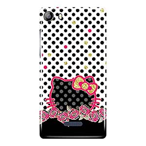 a AND b Designer Printed Mobile Back Cover / Back Case For Micromax Canvas 5 - E481 (MIC_E481_3D_3257)