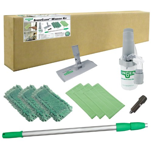 Unger Ck053 10 Piece Speedclean Window Cleaning Kit