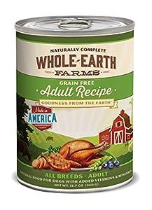 Whole Earth Farms Adult Recipe, 12.7-Ounce