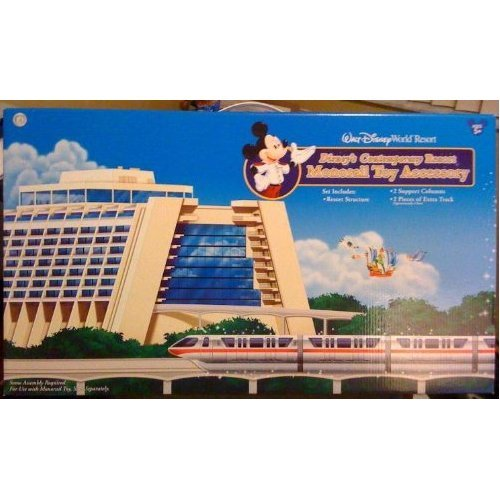 WALT DISNEY WORLD CONTEMPORARY RESORT PLAYSET