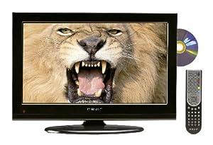 Nevir NVR-7502-19HDD-N - Televisión LED con lector DVD lateral, pantalla de 19 pulgadas, Dolby digital plus, color negro