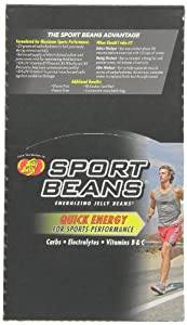 Jelly Belly Sport Beans, Orange Energizing Jelly Beans, 1-Ounce Bags (Pack of 24)