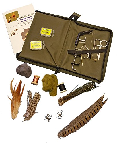 Gunnison river simple fly tying kit sporting goods outdoor for Fly fishing tying kit